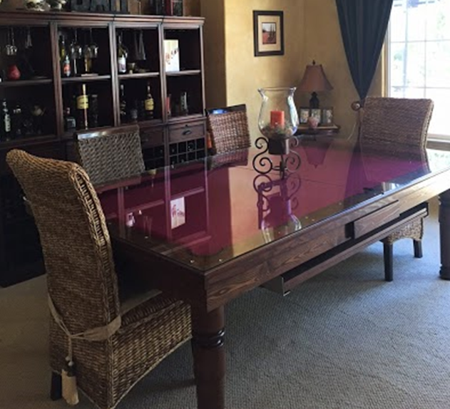 Dining Room Pool Table 1