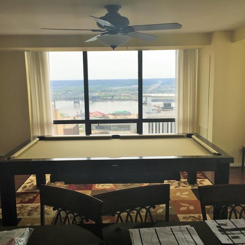 Ellegant Dining Room Pool Table 12