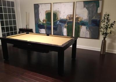 Ellegant Dining Room Pool Table 17