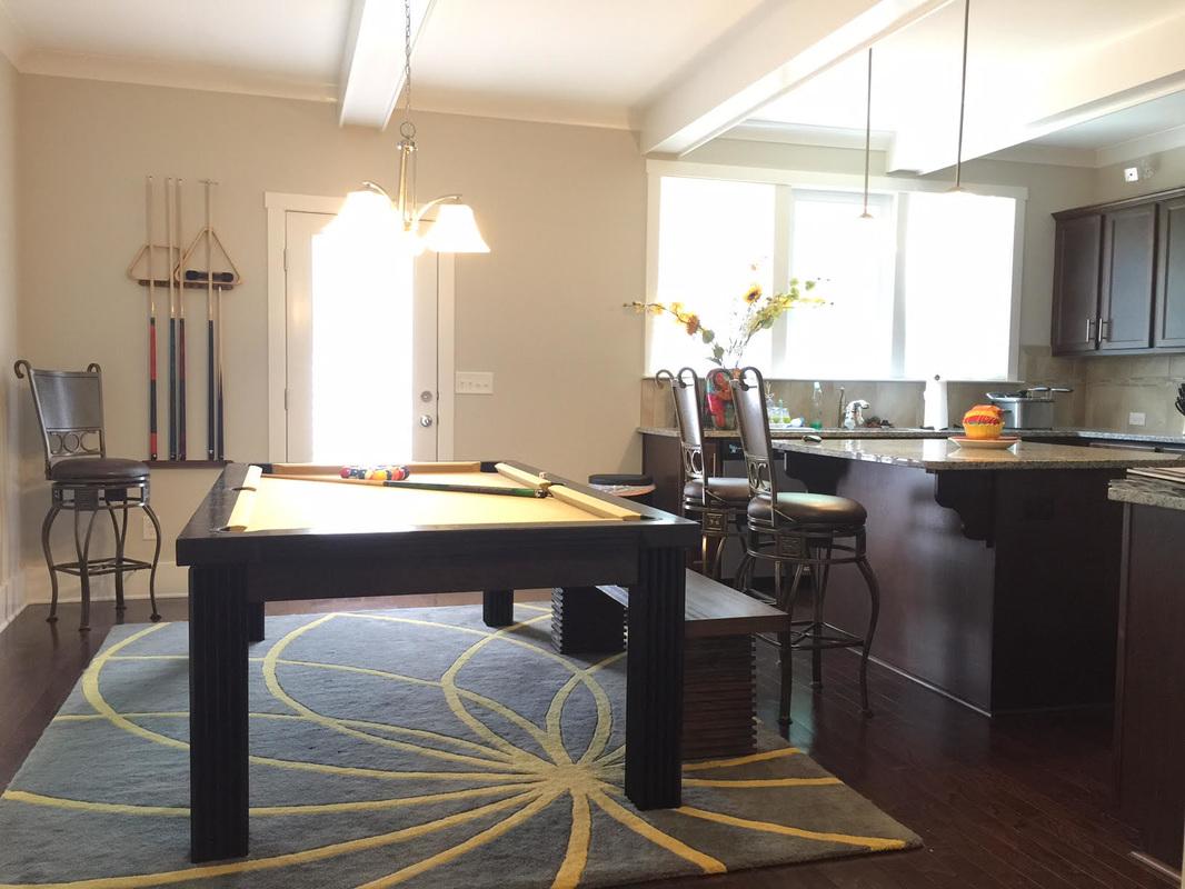 Ellegant Dining Room Pool Table 8