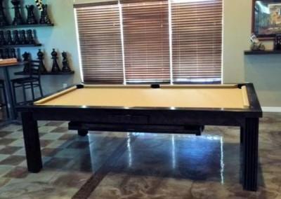 Ellegant Dining Room Pool Table 9