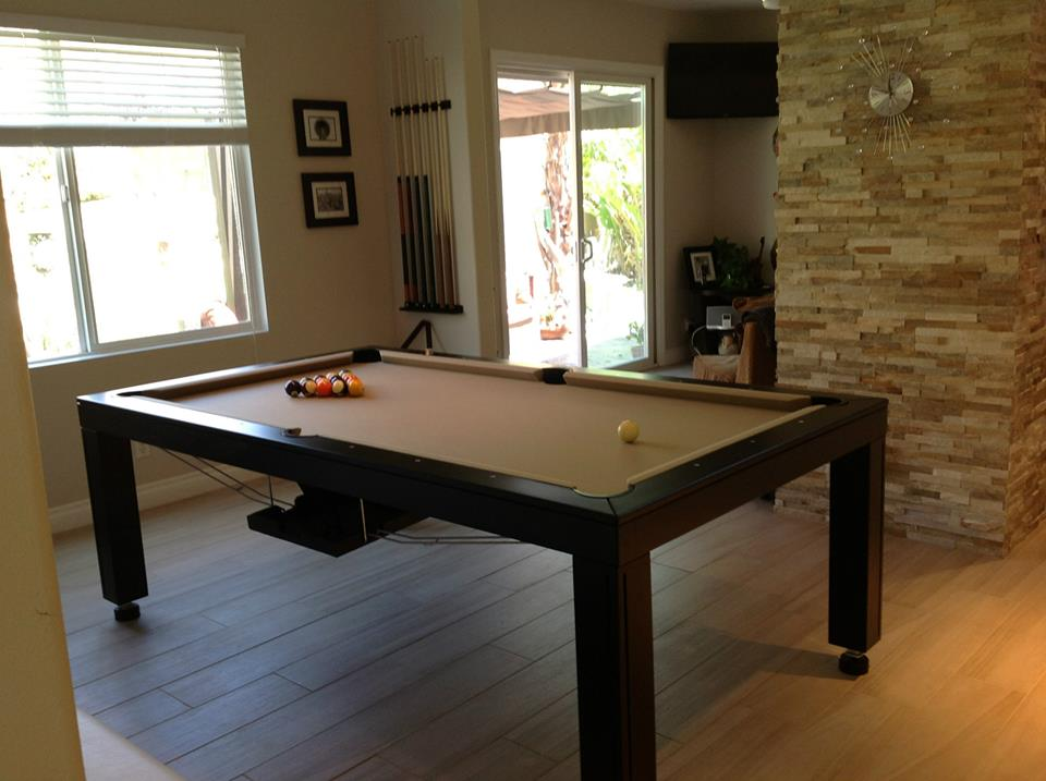 Hollywood Dining Room Pool Table 3