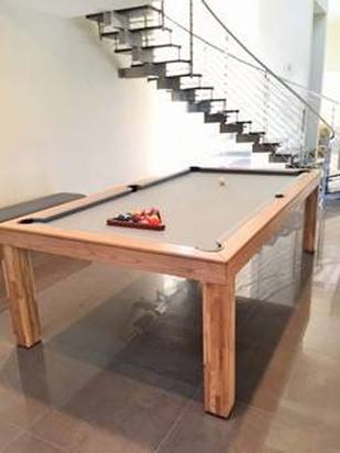 New Yorker Dining Room Convertible Pool Table 9