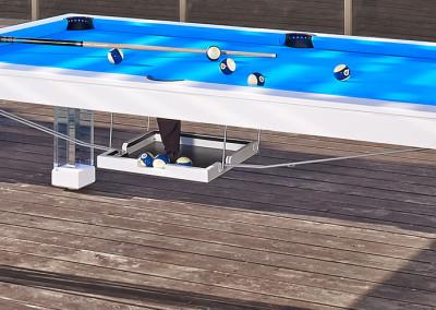 OCEAN Pool Table