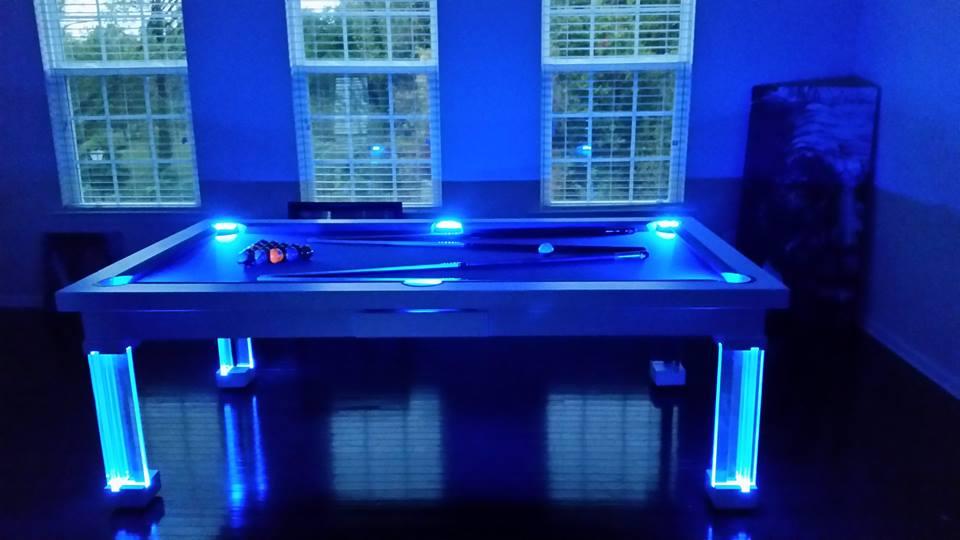 Ocean Dining Room Pool Table 10