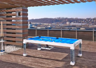 Ocean Dining Room Pool Table 12