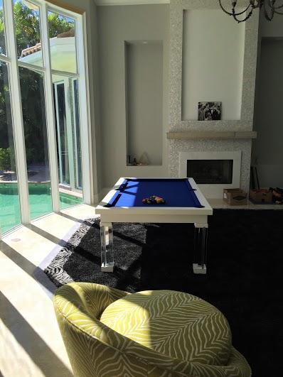 Ocean Dining Room Pool Table 2