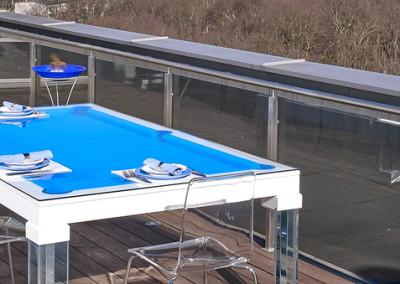 Ocean Dining Room Pool Table