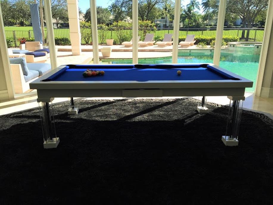 Ocean Dining Room Pool Table 5