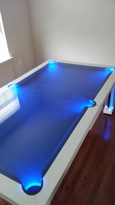 Ocean Dining Room Pool Table 8