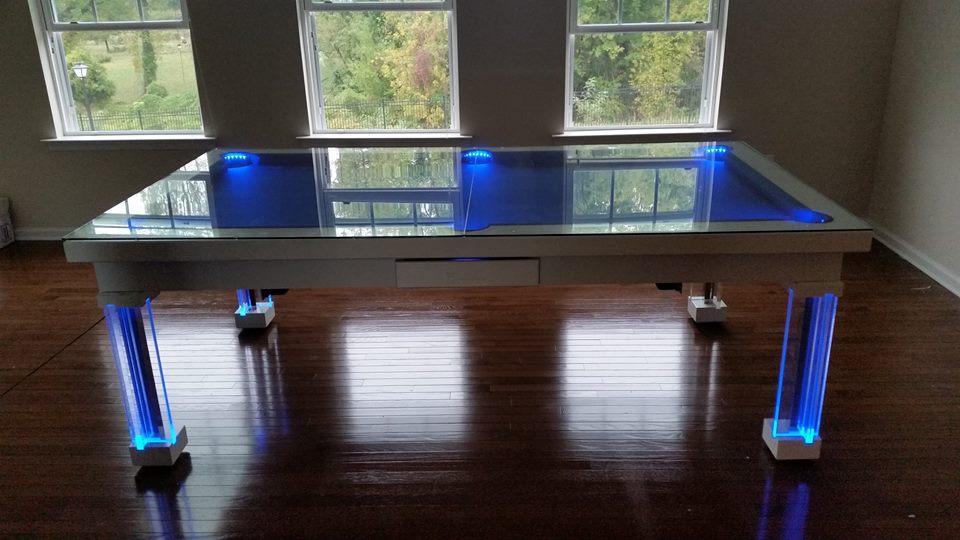 Ocean Dining Room Pool Table 9