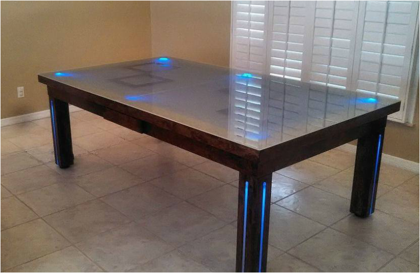Safari Dining Room Pool Table 2