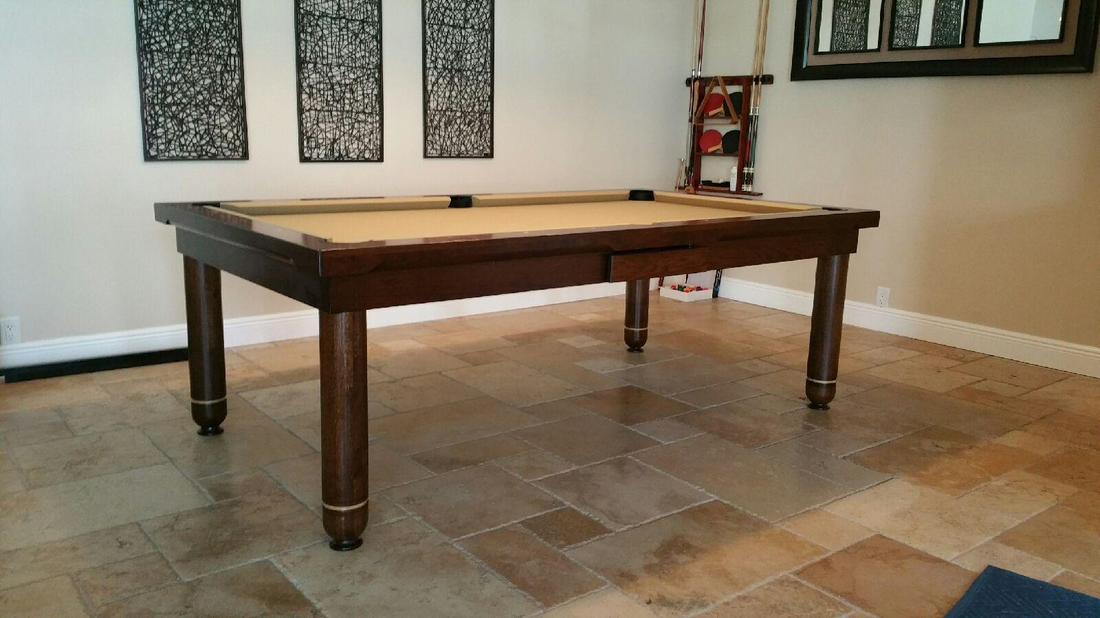 Coddington Dining Room Pool Table