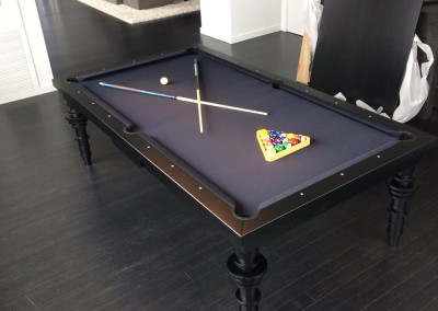 Contemporary Dining Room Pool Table 3