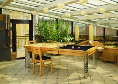 Dining Room Convertible Pool Table 5