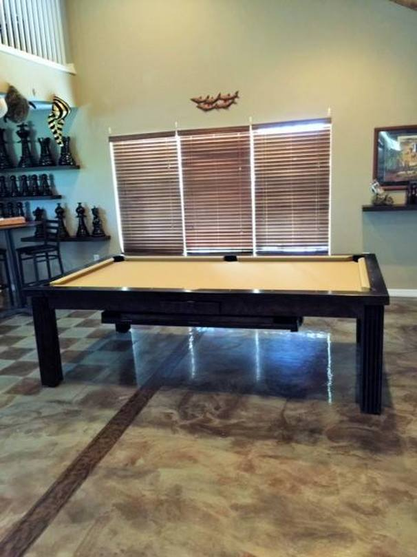Ellegant Dining Room Pool Table 10