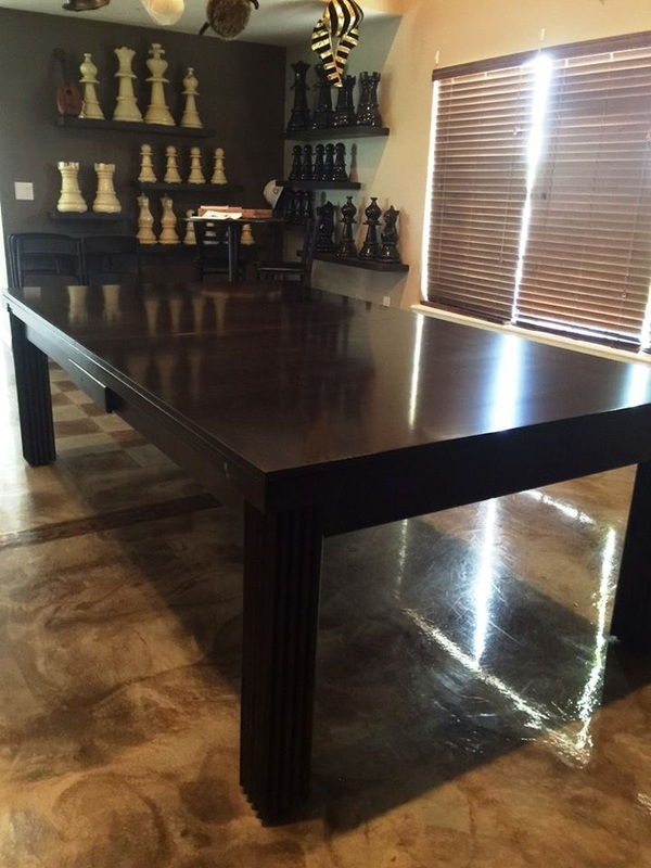 Ellegant Dining Room Pool Table 11