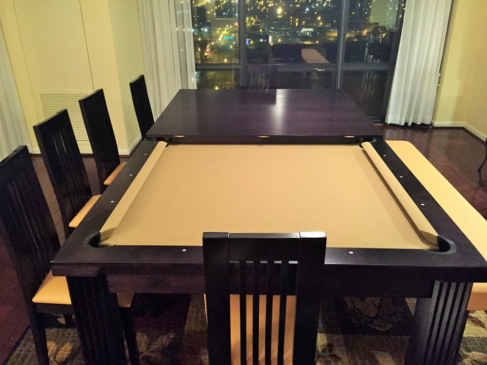 Ellegant Dining Room Pool Table 15