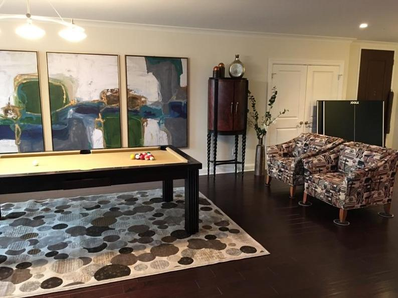 Ellegant Dining Room Pool Table 19