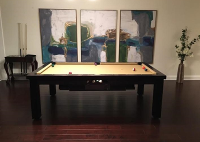 Ellegant Dining Room Pool Table 23