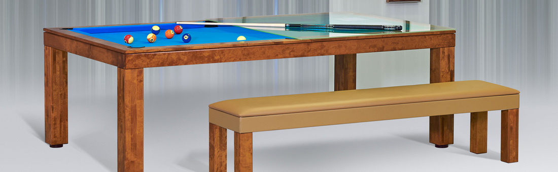 Fabulous Dining Room Pool Table