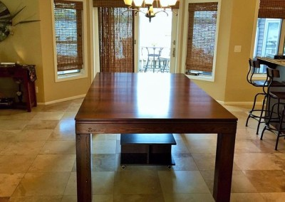 Hollywood Dining Room Pool Table 10