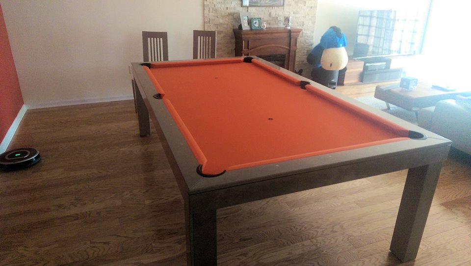 Hollywood Dining Room Pool Table 8
