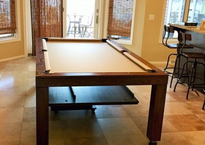 Hollywood Dining Room Pool Table 9
