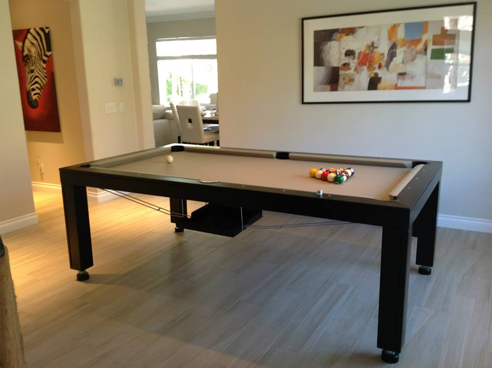 Hollywood Dining Room Pool Table