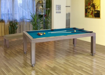Napoli Dining Room Pool Table 2