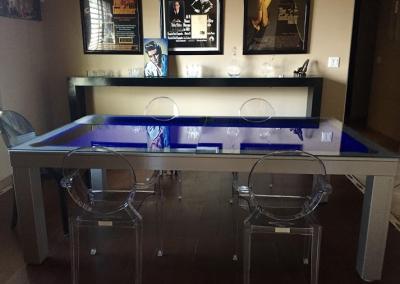 Napoli Dining Room Pool Table 5