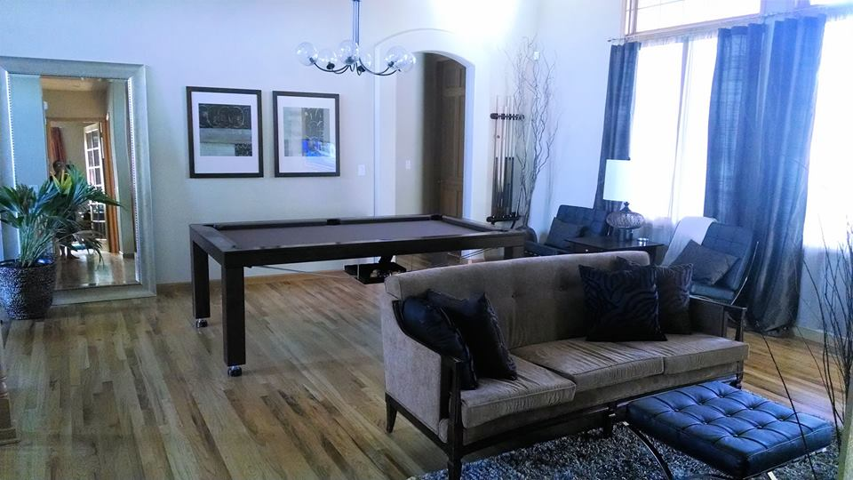 New Yorker Dining Room Convertible Pool Table 5