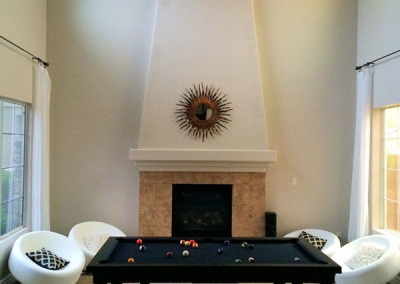 Sleek Dining Room Pool Table 2