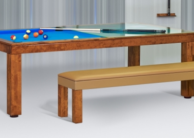 Dining Room Pool Table Benches